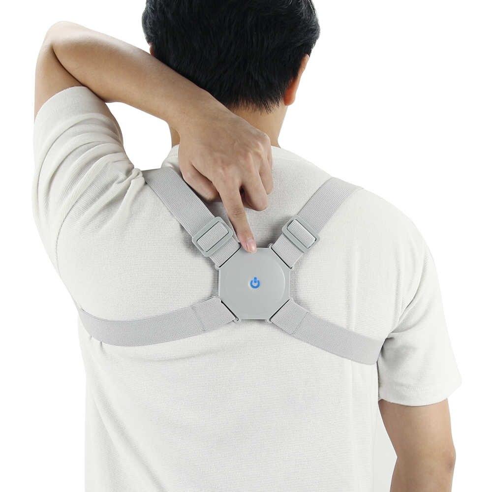 Vibrate Smart Back Posture Corrector Back Intelligent Brace Support Belt Shoulder Training