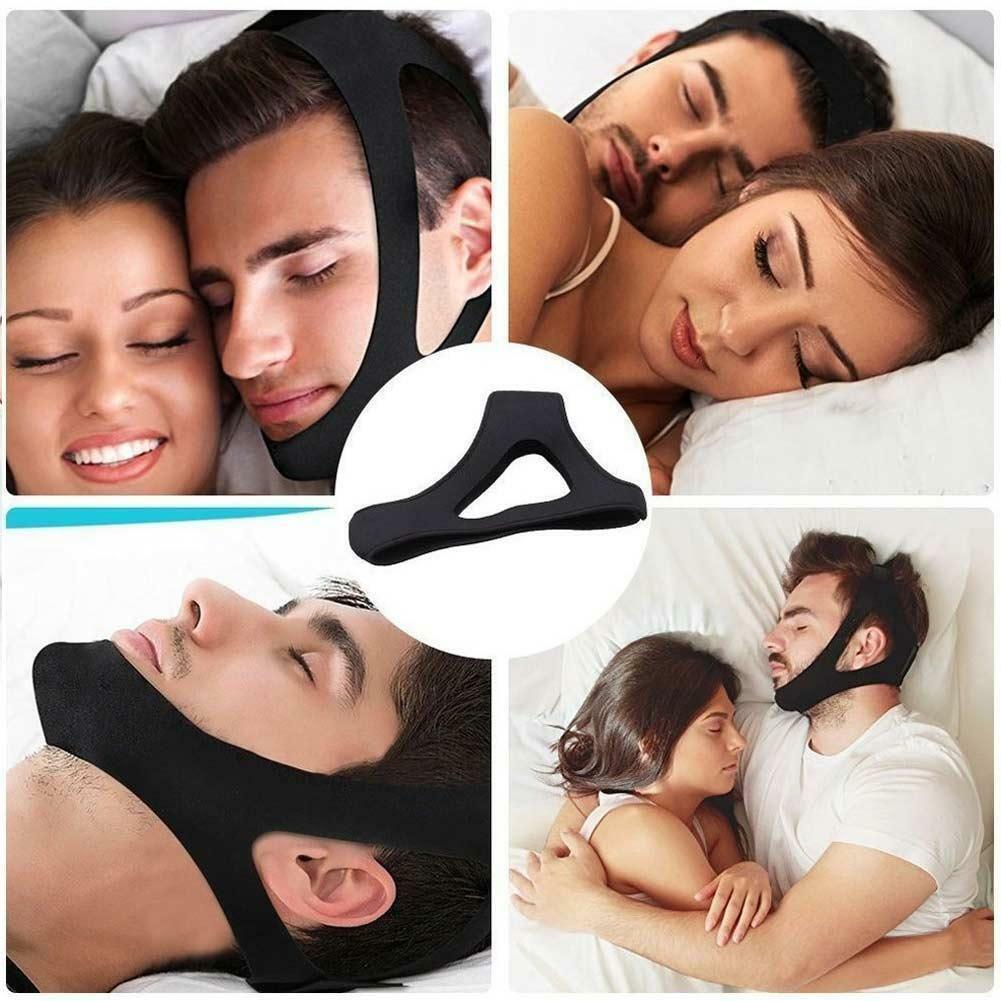 Stop Snoring Anti Apnea Snore Strap Support