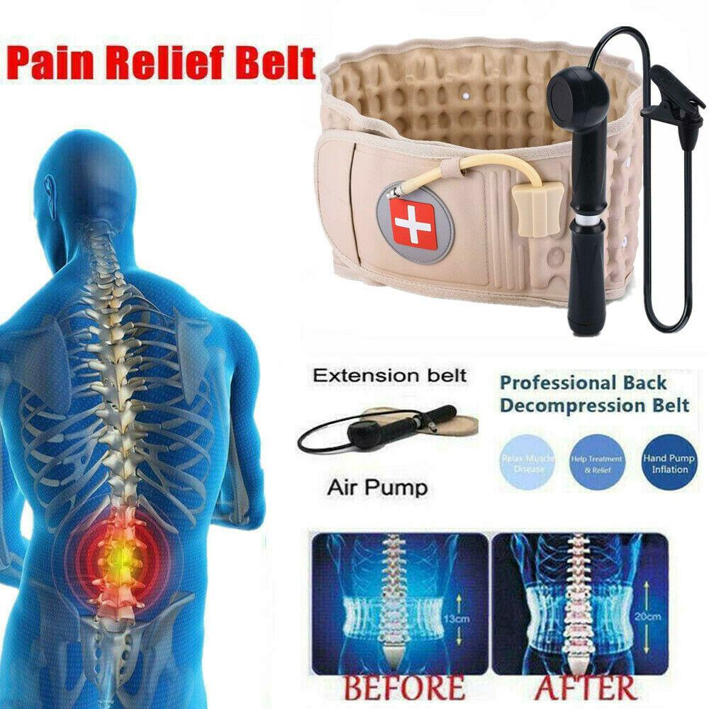 Waist Air Traction Decompression Pain Relief Brace Back Belt
