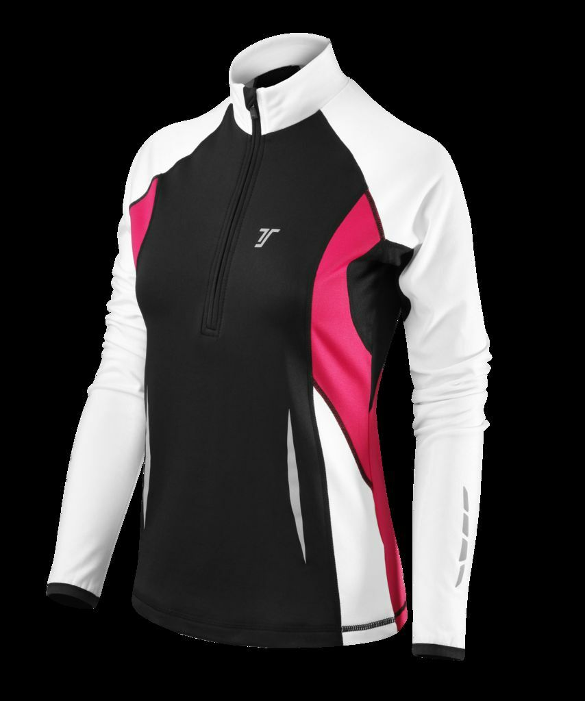 Womens TCA Long Sleeve Top Jacket Collection - Zip Up Zipper Running Training