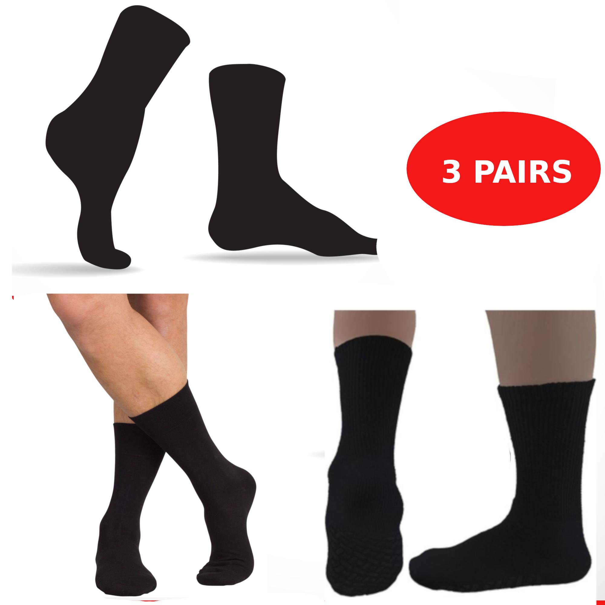 Diabetic Socks Unifit Natrural Comfort 3 x Pairs