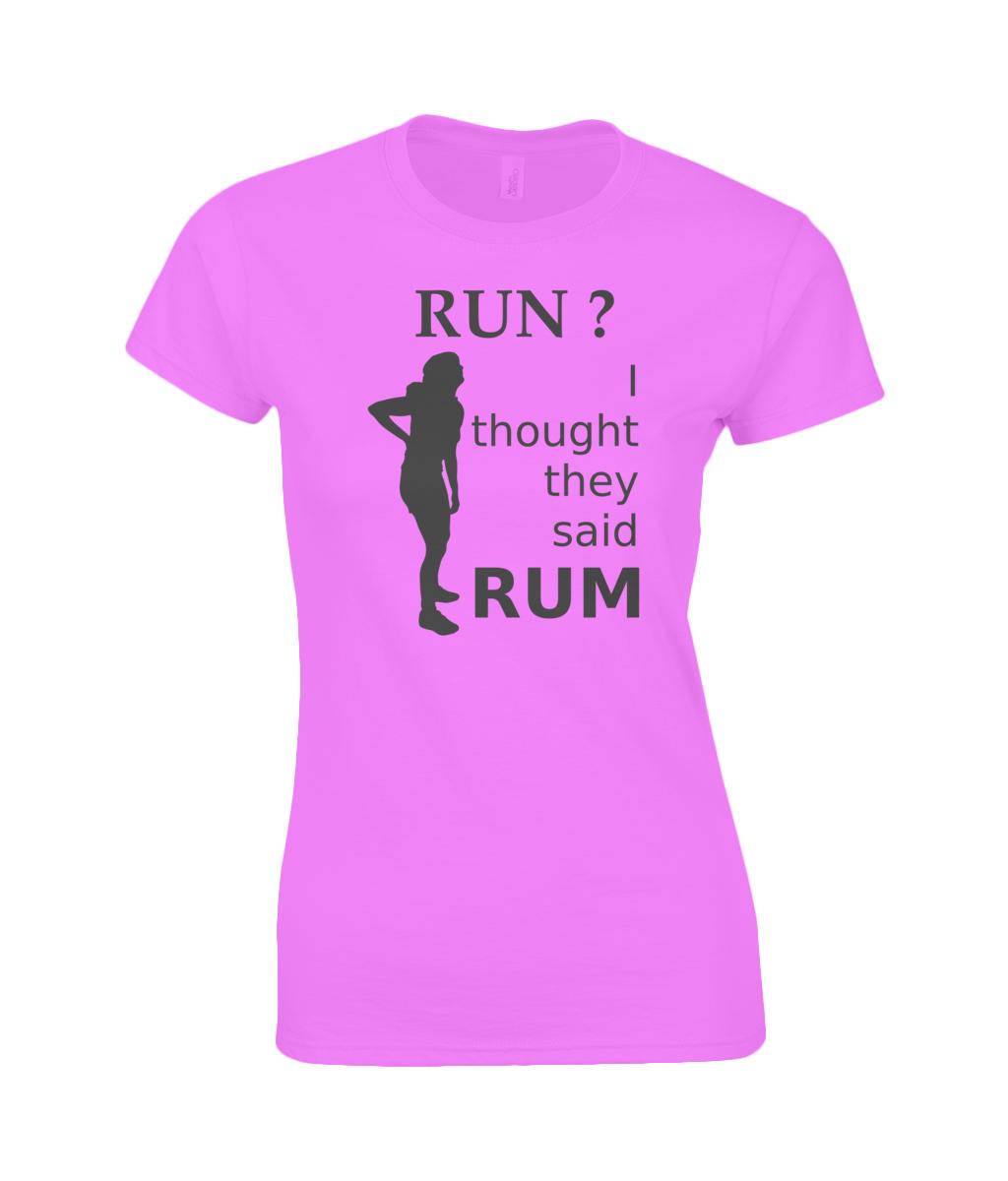 Rum T Shirt Womens