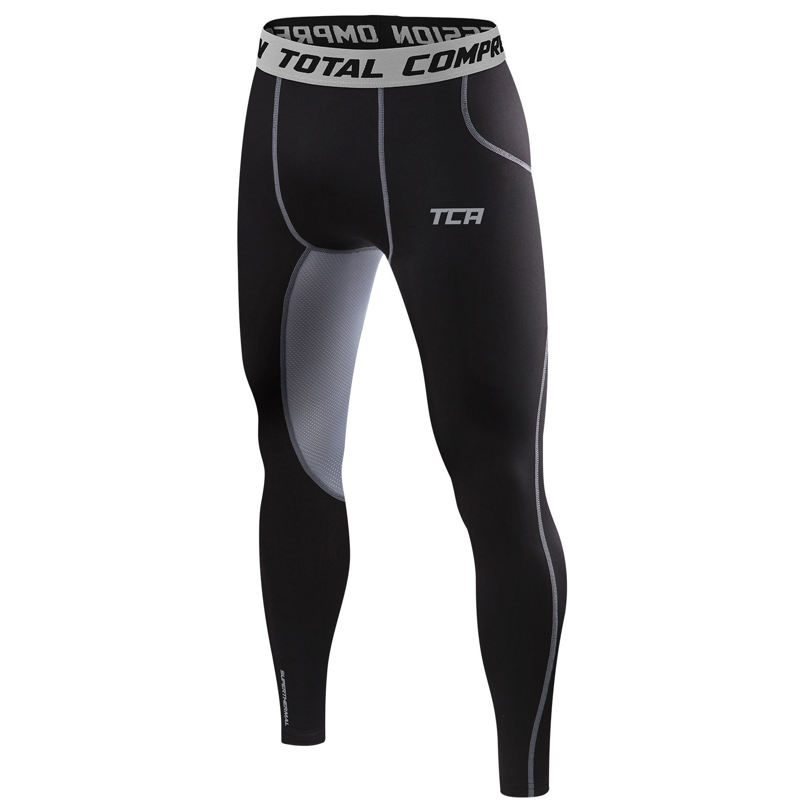 TCA Mens Thermal Compression Tights Base Layer Warm Running Gym