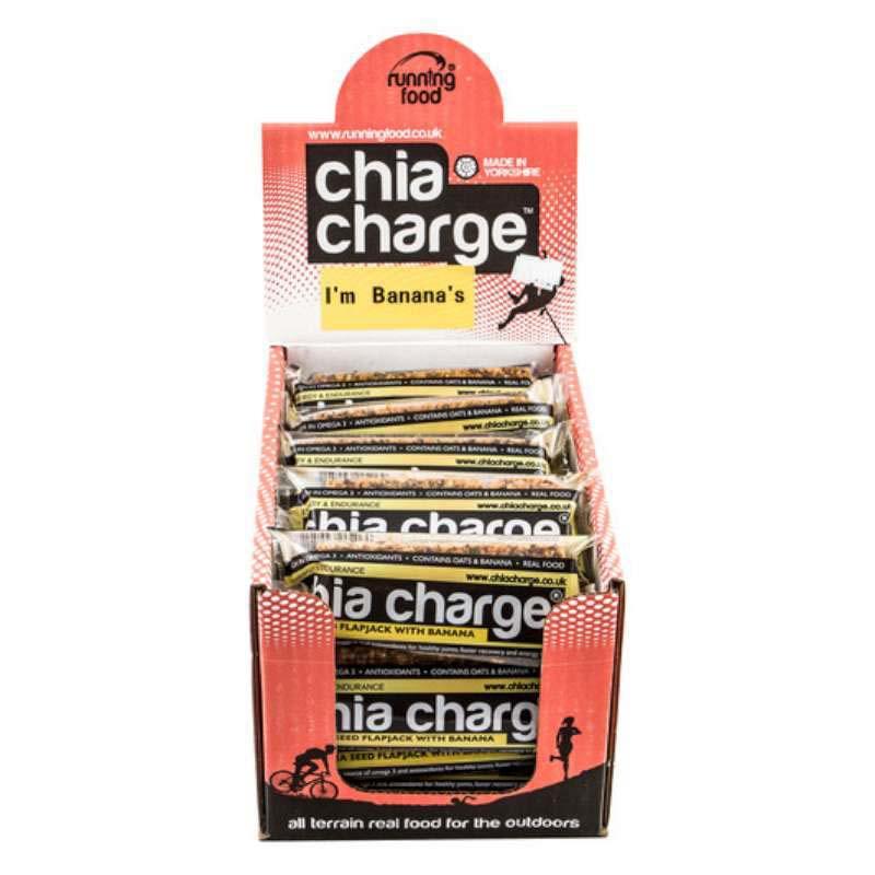 Chia Charge Flapjack Banana 20 x 80g