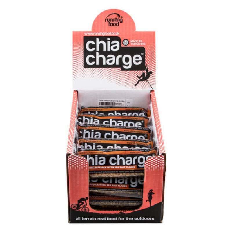 Chia Charge Flapjack Original 20 x 80g