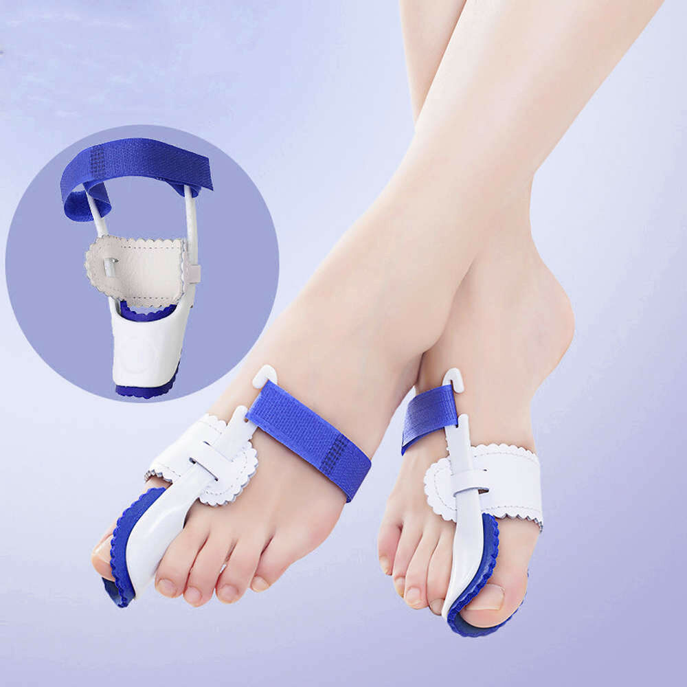 1 x Pair Bunion Splint Corrector Hallux Valgus-Straightener Toe Separator Support
