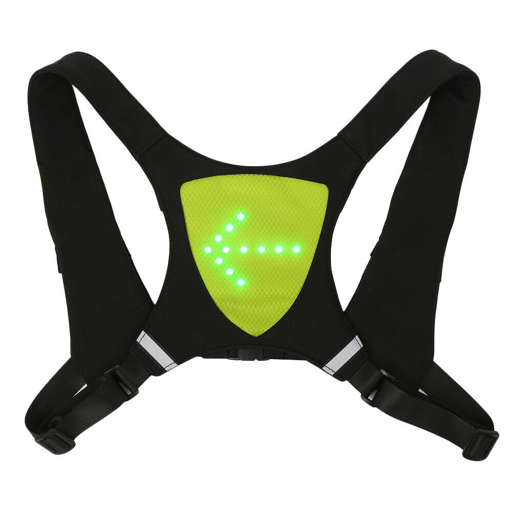 Reflective Running Cycling Safety LED Turn Signal Vest