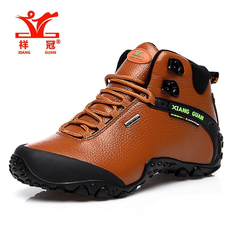 XG81998M  Walking Hiking Shoes Waterproof Brown Tan