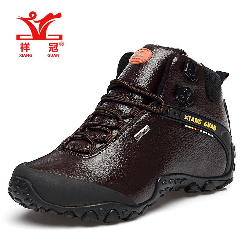 XG81998M  Walking Hiking Shoes Waterproof Coffee