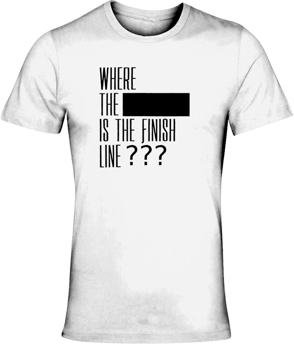 **** Finish Line T Shirt