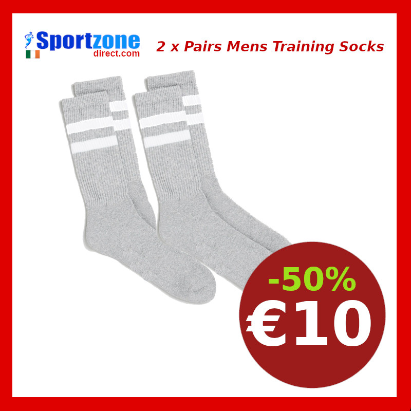 Mens  Sports Training Socks 2 x Pairs