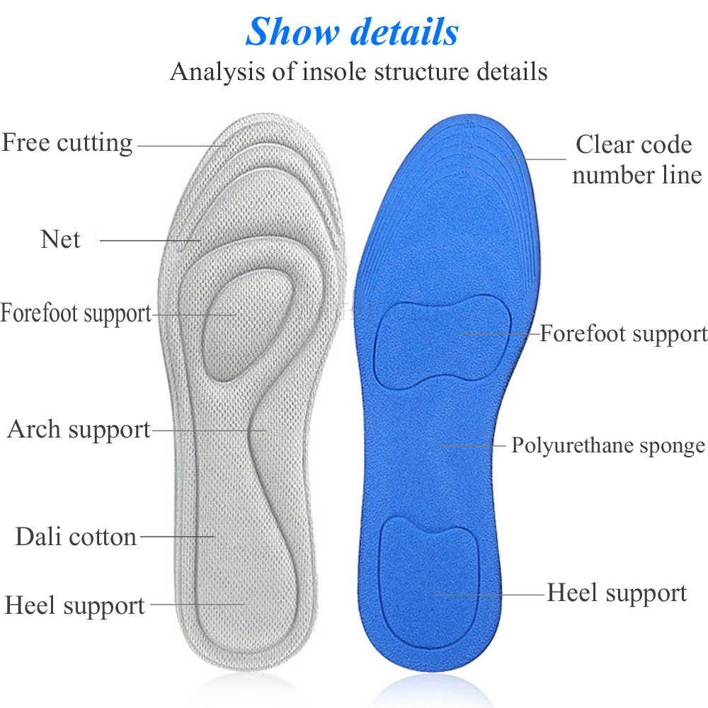 Buy Unisex Pain Free 4D Stretch Breathable Orthopedic Pad Memory Foam Cushion Insoles Ireland