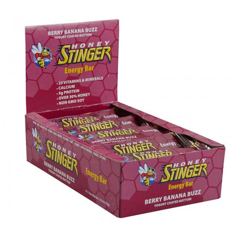 Stinger Energy Bar Berry Banana Buzz x 15