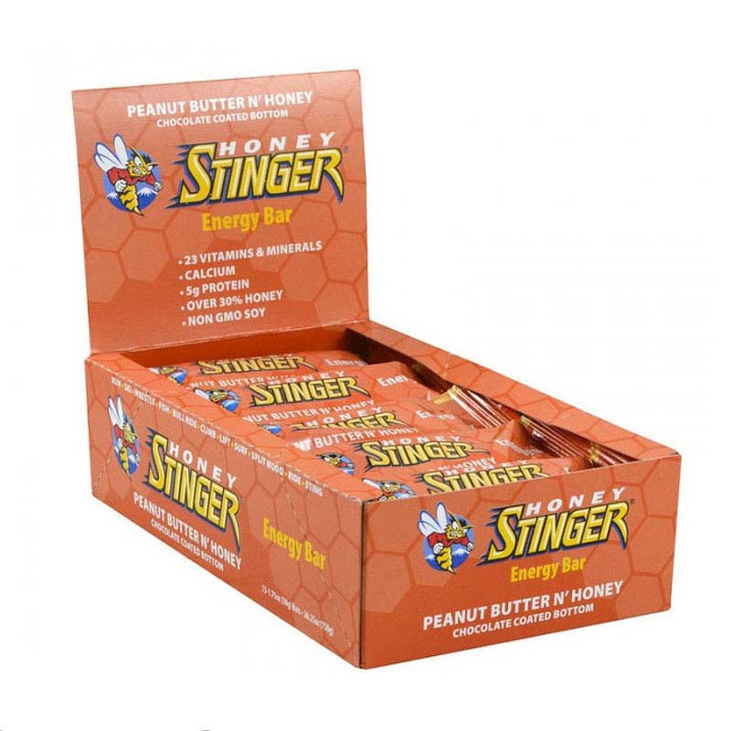Stinger Energy Bar Honey and Peanut x 15