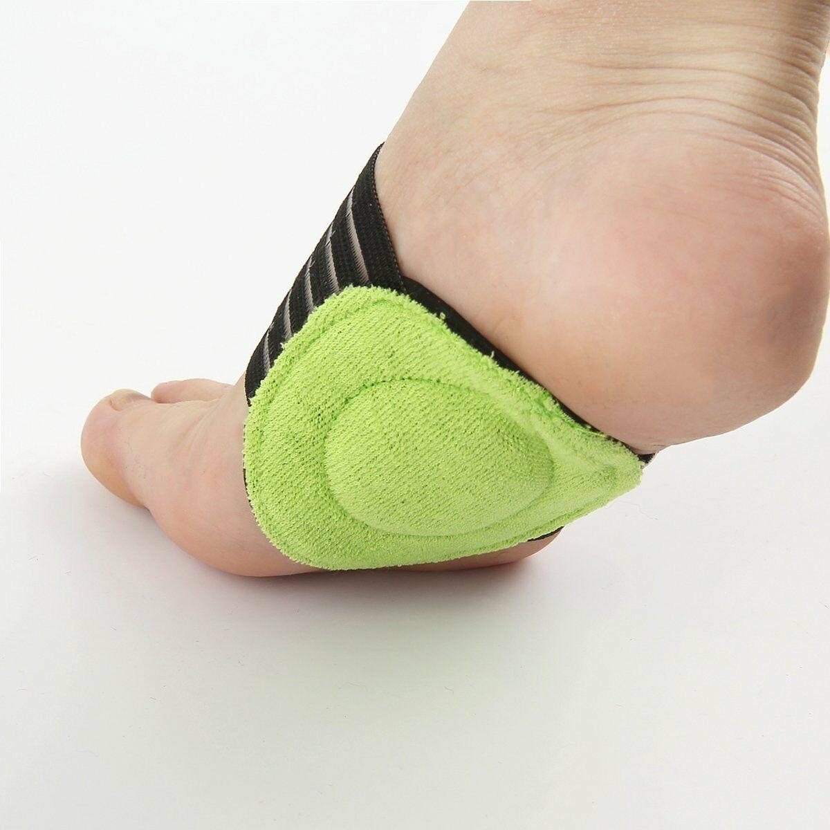Best 1 x Pair Plantar Cushion Fasciitis Aid Fallen Arches Heel Pain Relief