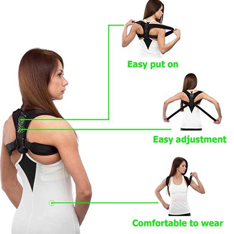Back Shoulder Posture Corrector Belt Ireland