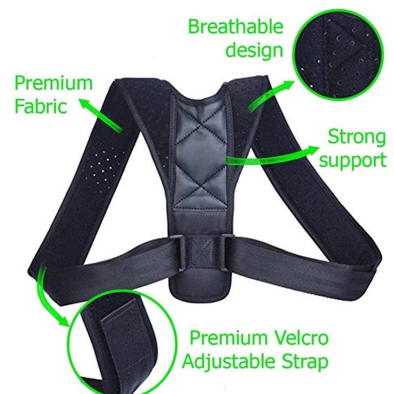 Buy Back Shoulder Posture Corrector Belt Ireland
