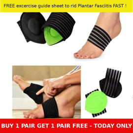 Plantar Fasciitis Cushion Arch Support