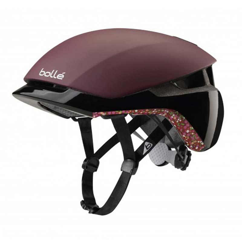 Bolle Messenger Premium Burgandy Liberty Helmet