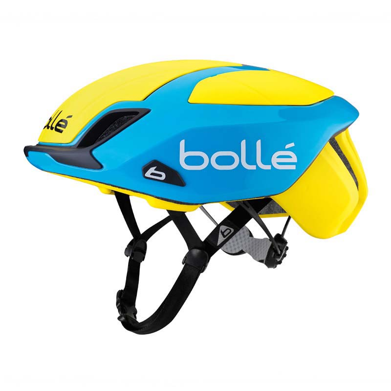 Bolle The One Road Premium Yellow and Blue Helmet