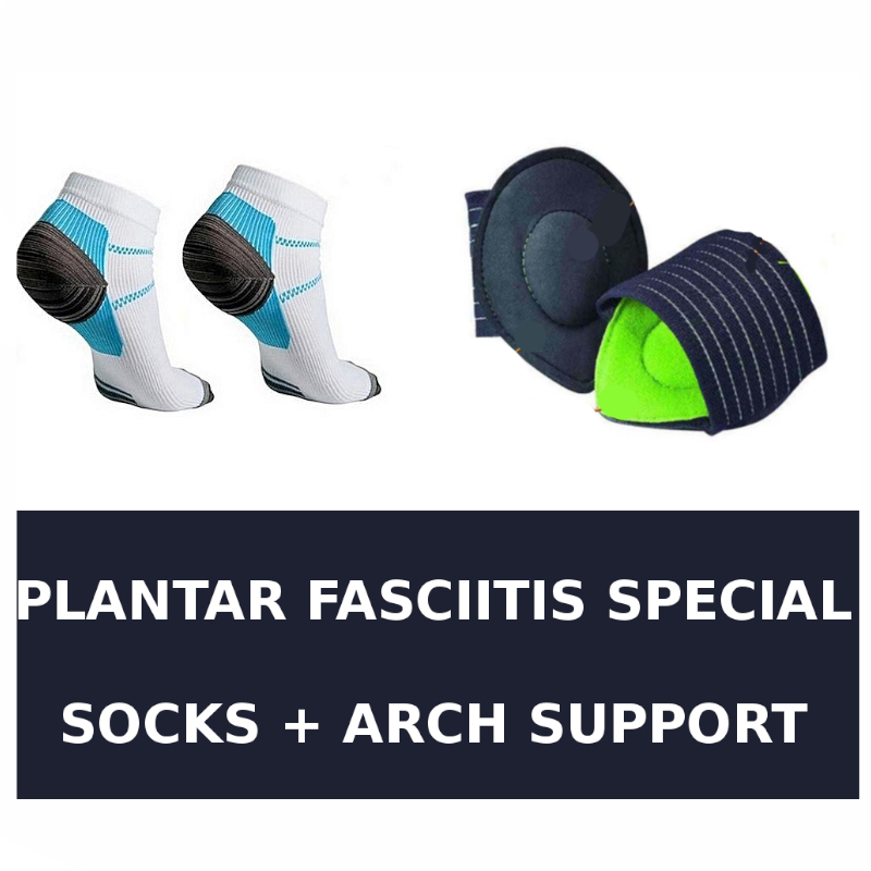 Plantar Fascia Compression Socks Plus Fasciitis Arch Support