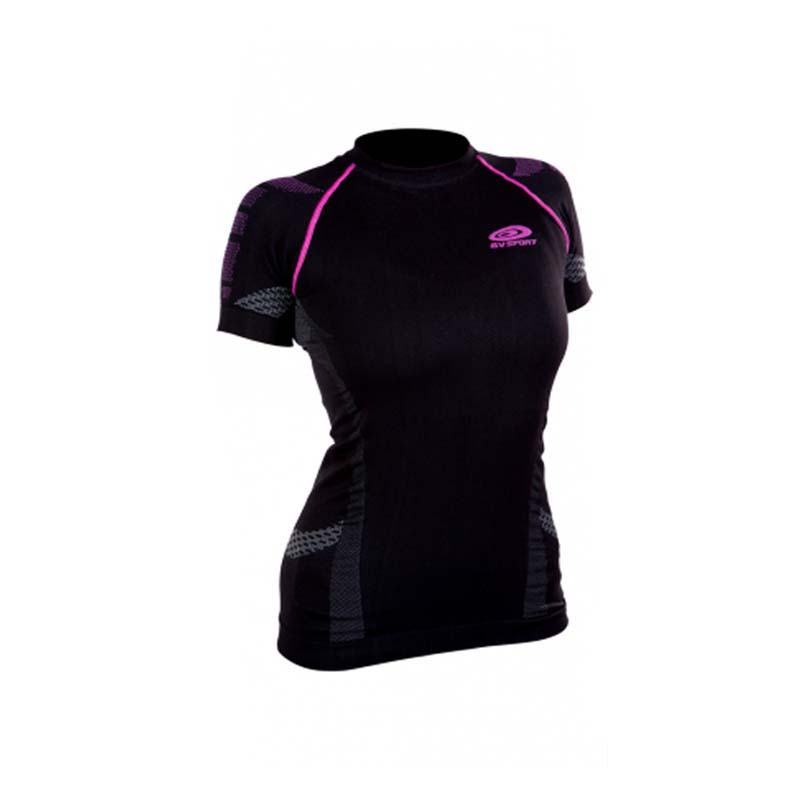 BV Nauture 3R Black Pink Short Sleeve Female