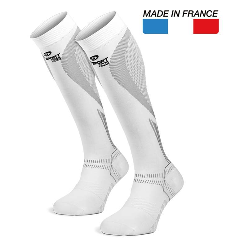 BV Pro Recovery Socks White Elite