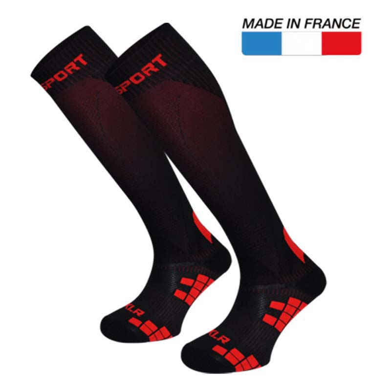 XLR Multi Sock Red Black