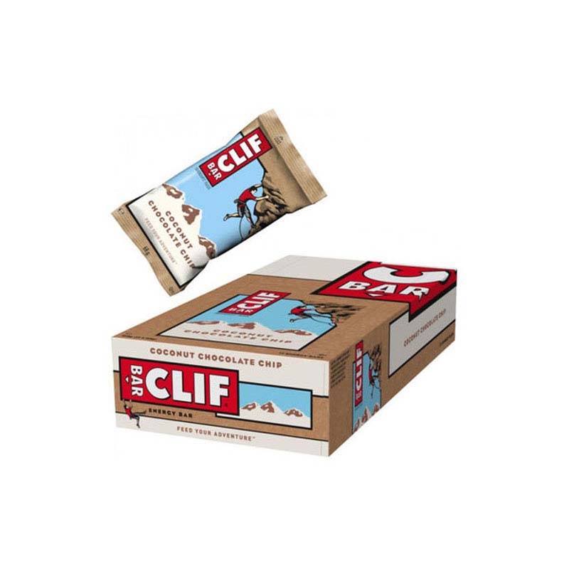 Clif Bar Coconut Chocolate Chip x 12