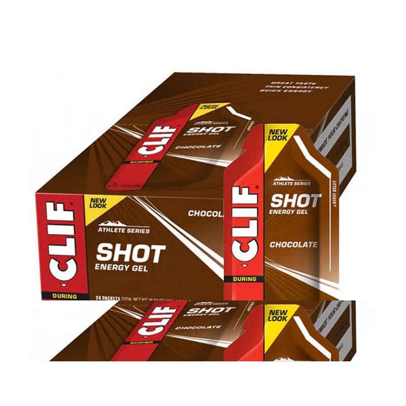 Clif Shot Gel Chocolate x 24