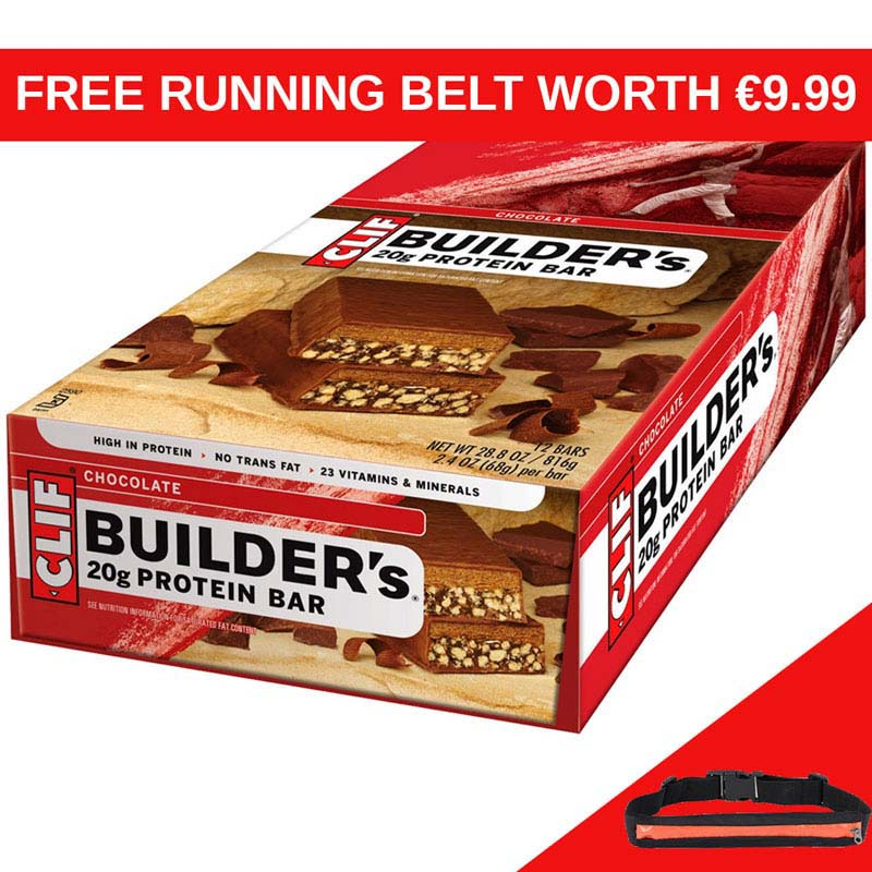 CLIF Builders Chocolate Bar x 12 RB