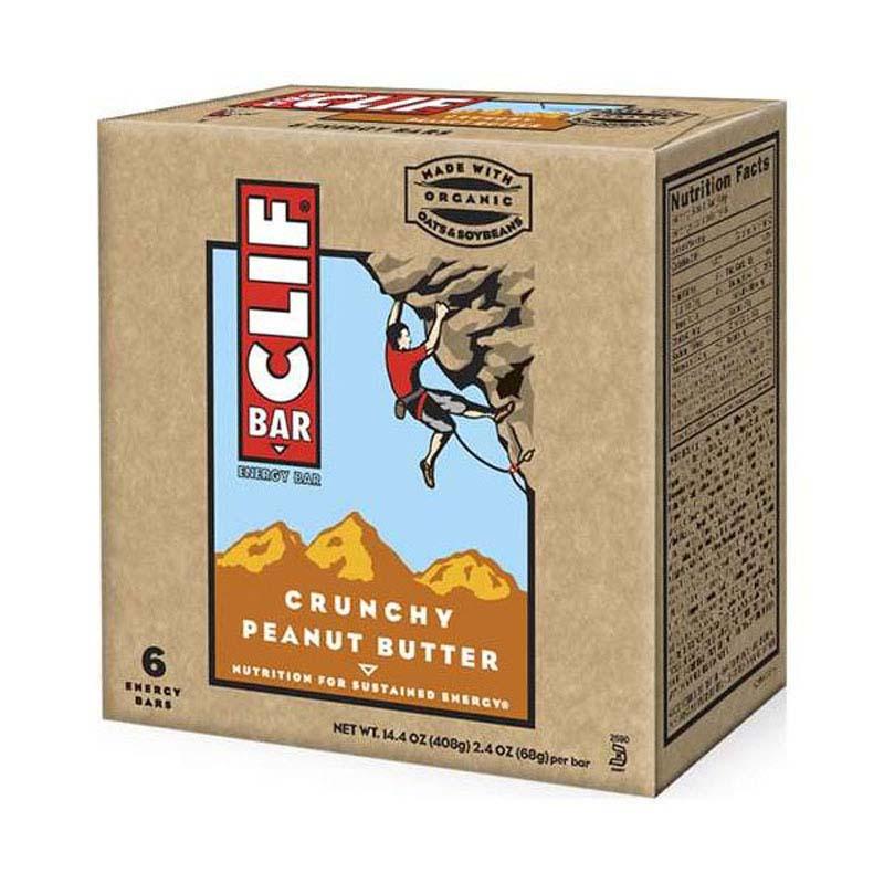 Clif Bar Crunch Peanut Butter x 12