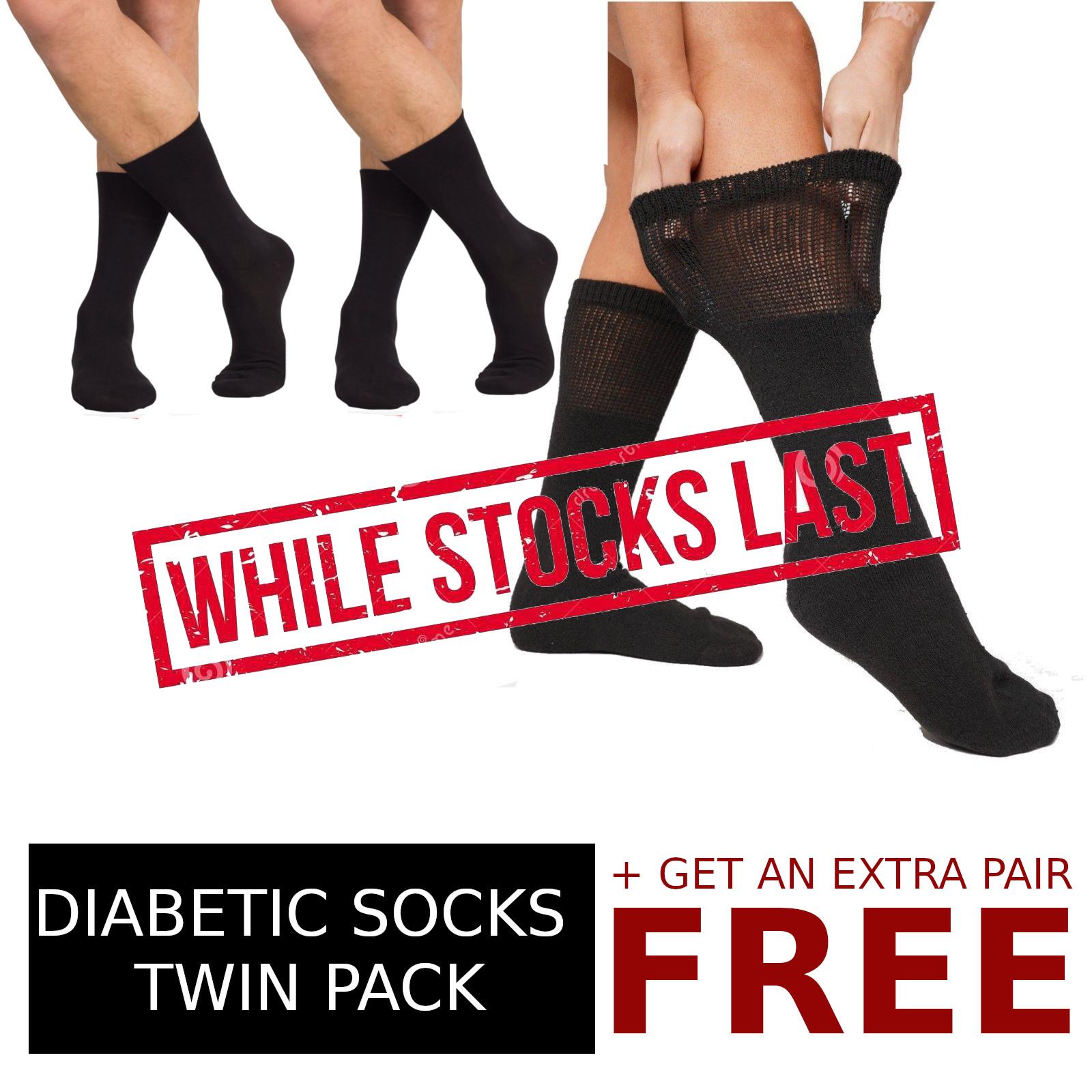 Diabetic Socks Unifit Natrural Comfort 2 Pairs GET 1 Pair FREE