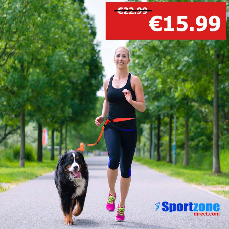 Handsfree Dog Walking Running Belt Waist