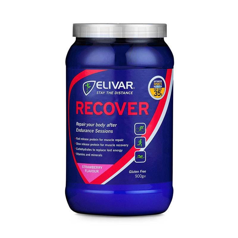 Elivar Recover Strawberry 900g