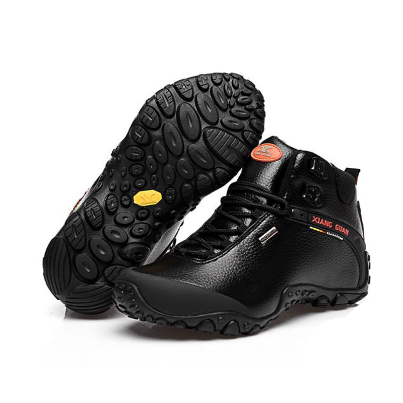 XG81998M  Walking Hiking Shoes Waterproof Black