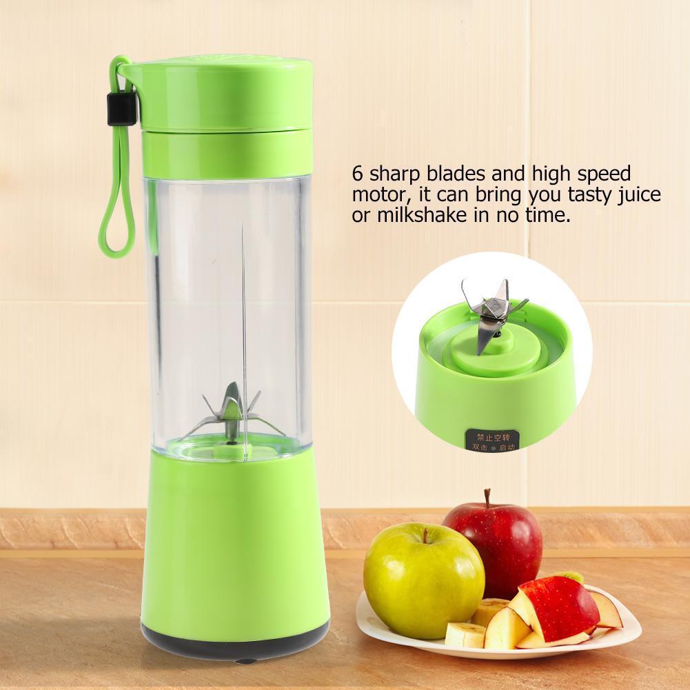 1× Portable USB Electric Fruit Juicer Maker Blender Juice Smoothie Shaker Bottle Reviews