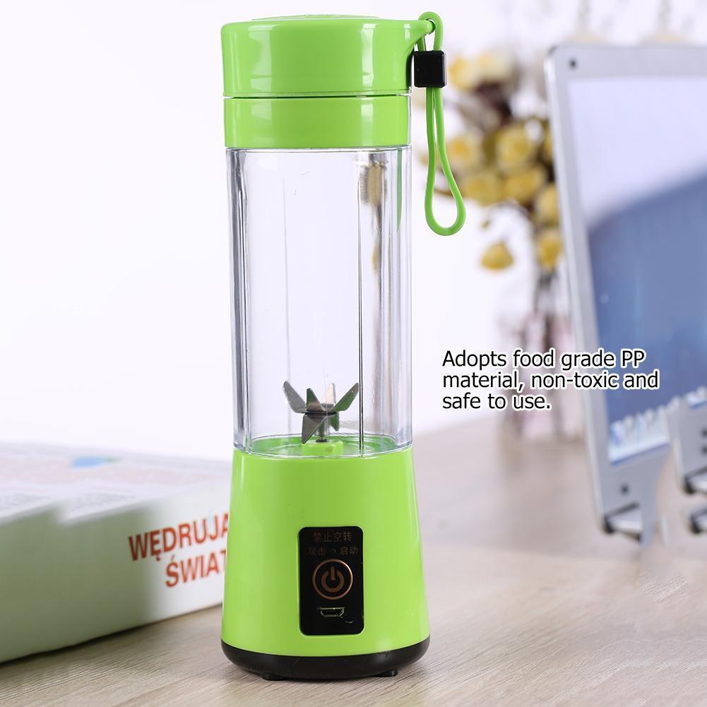 Best 1× Portable USB Electric Fruit Juicer Maker Blender Juice Smoothie Shaker Bottle