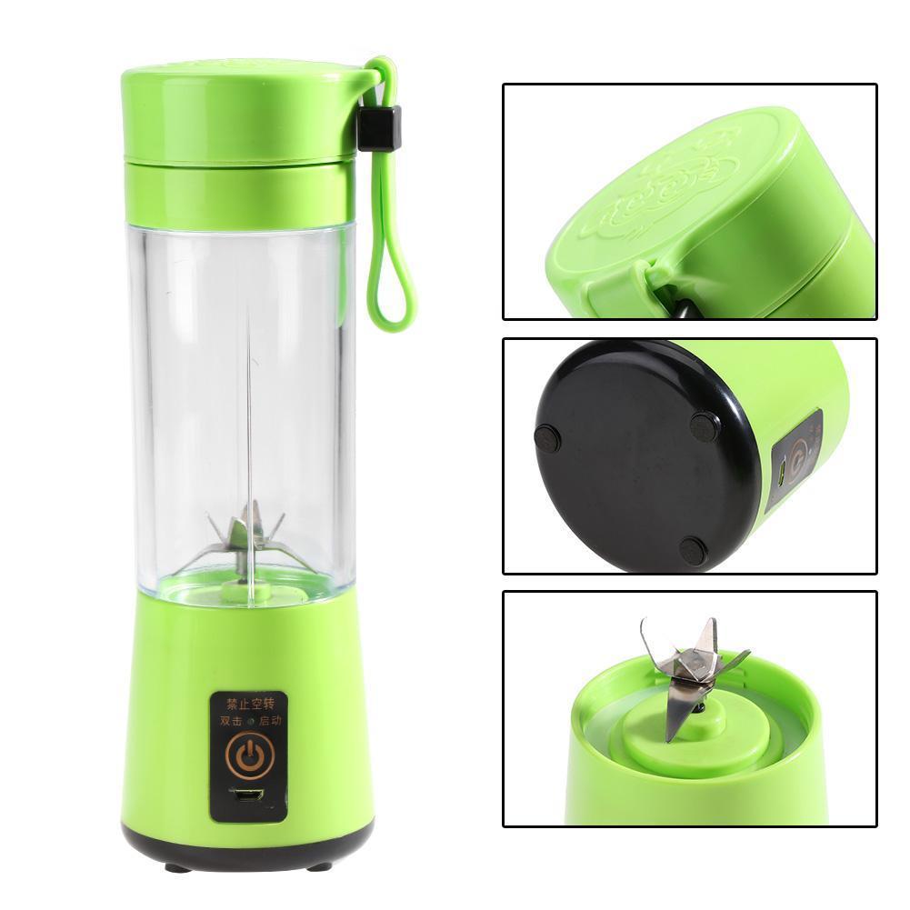 1× Portable USB Electric Fruit Juicer Maker Blender Juice Smoothie Shaker Bottle Ireland