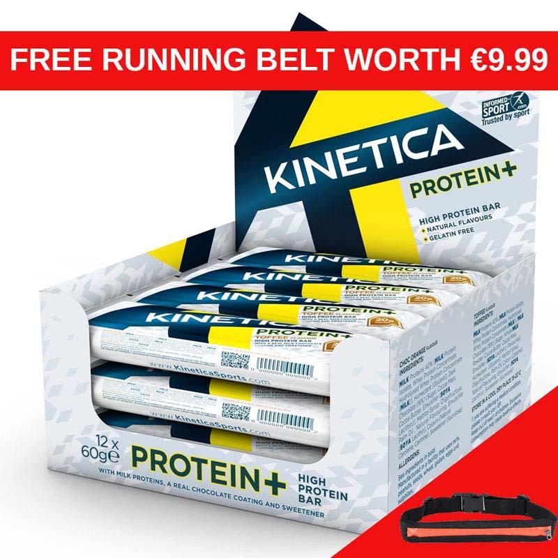 Kinetica Crisp Pro Bar Fruit and Nut x 12 RB