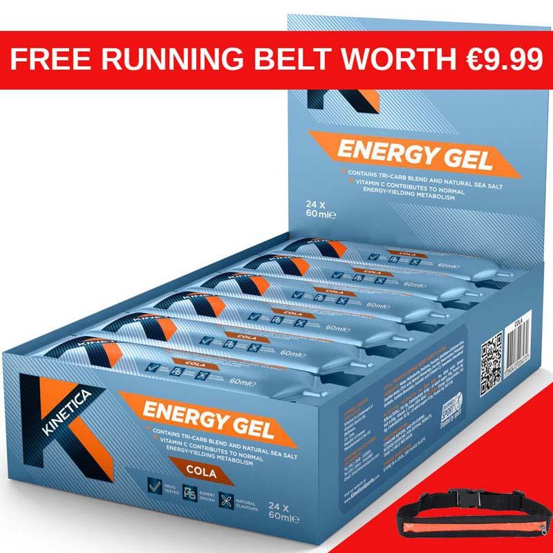 Kinetica Energy Gels Cola Box of 24 RB