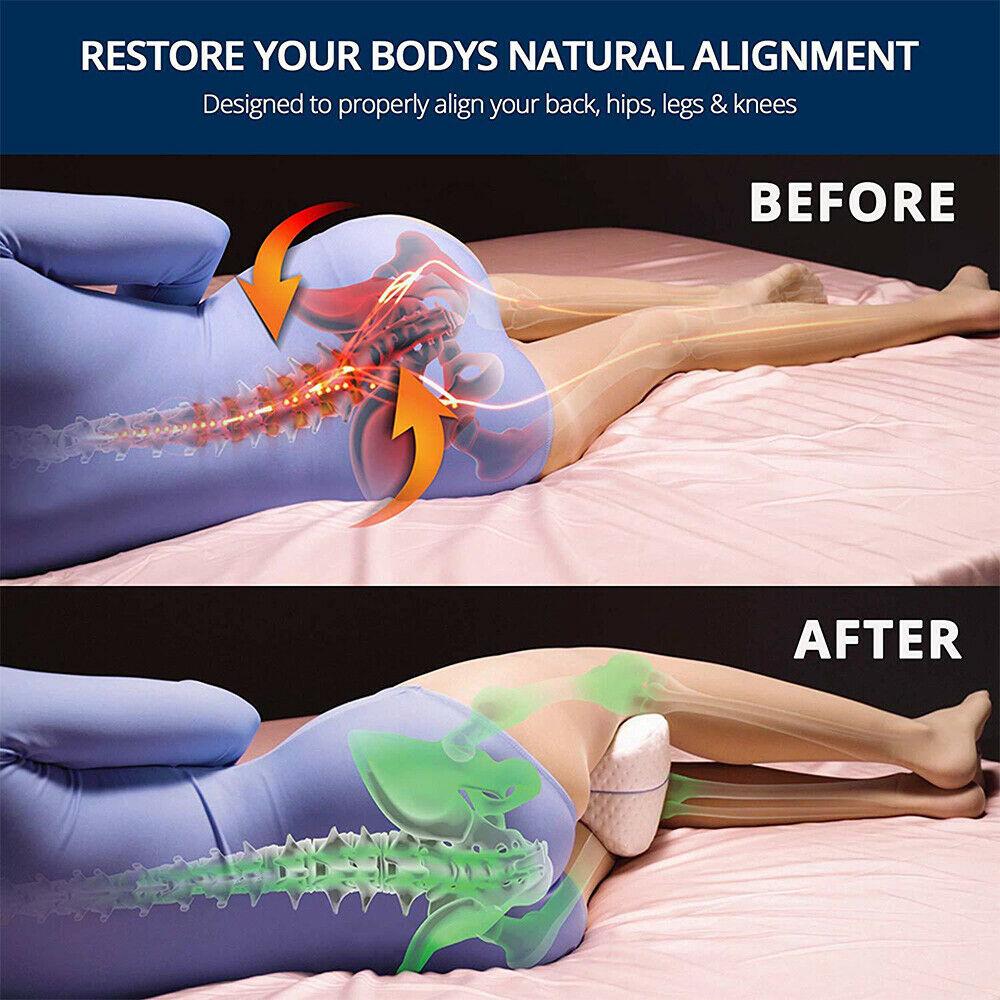 Buy Orthopedic Contour Leg Pillow for Back Hip Legs Knee Support  Ireland