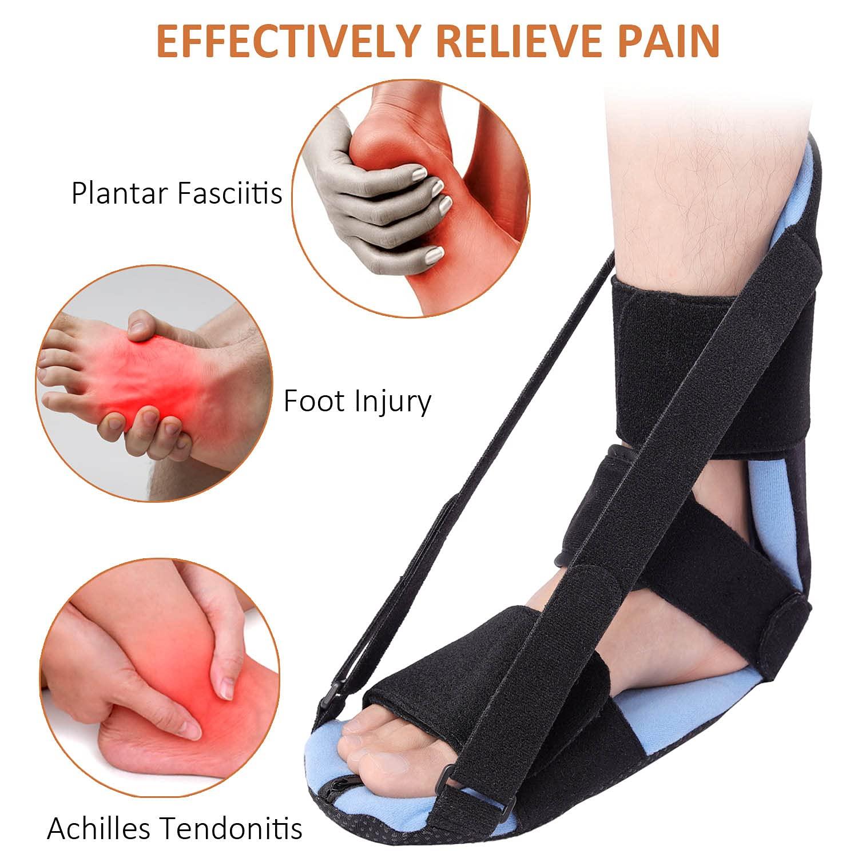 Best Plantar Fasciitis Night Splint Adjustable Foot Brace