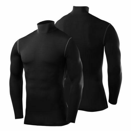 Buy TCA Mens Boys Body Armour Compression Baselayer Powerlayer Shirt Mock Neck Ireland