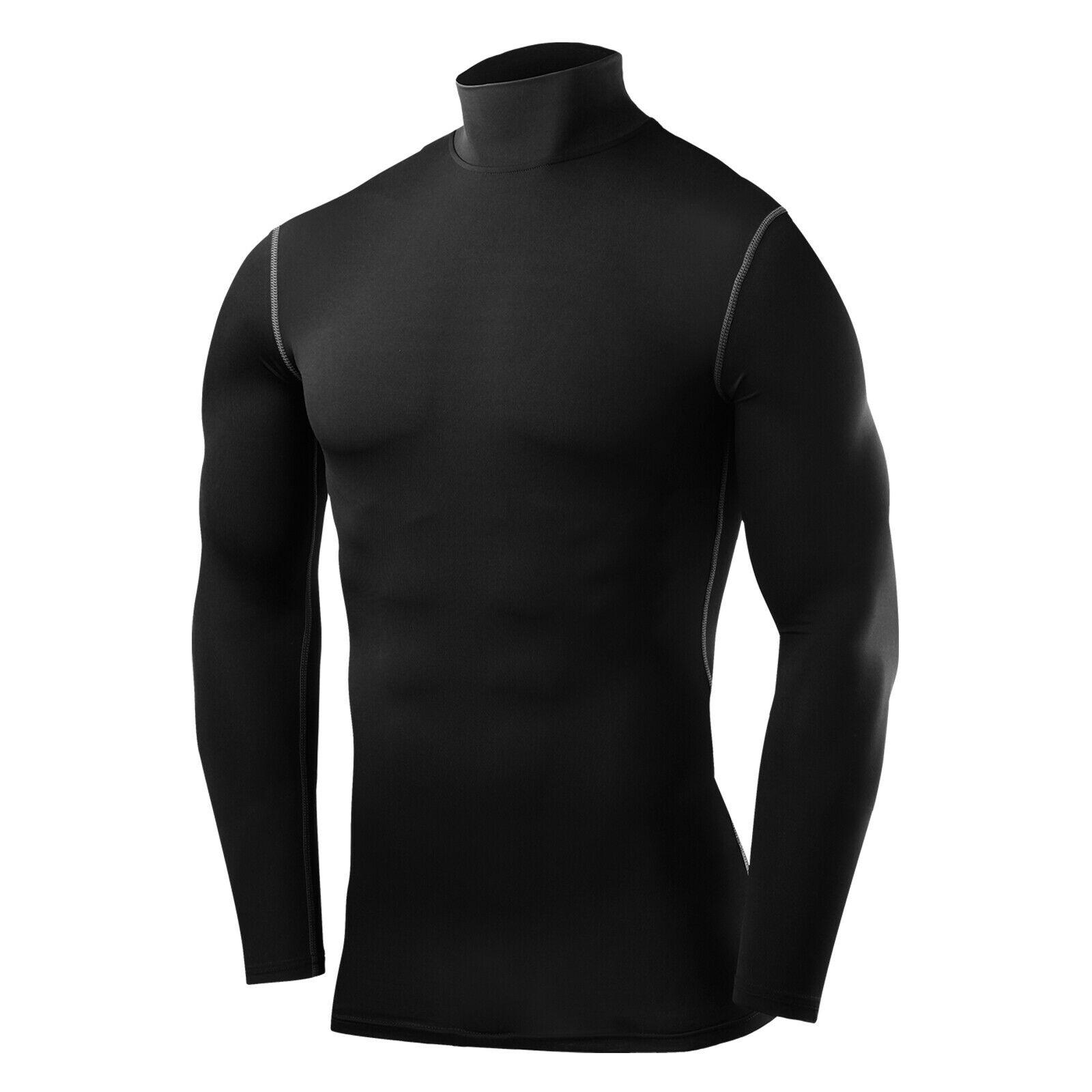 TCA Mens Boys Body Armour Compression Baselayer Powerlayer Shirt Mock Neck Reviews