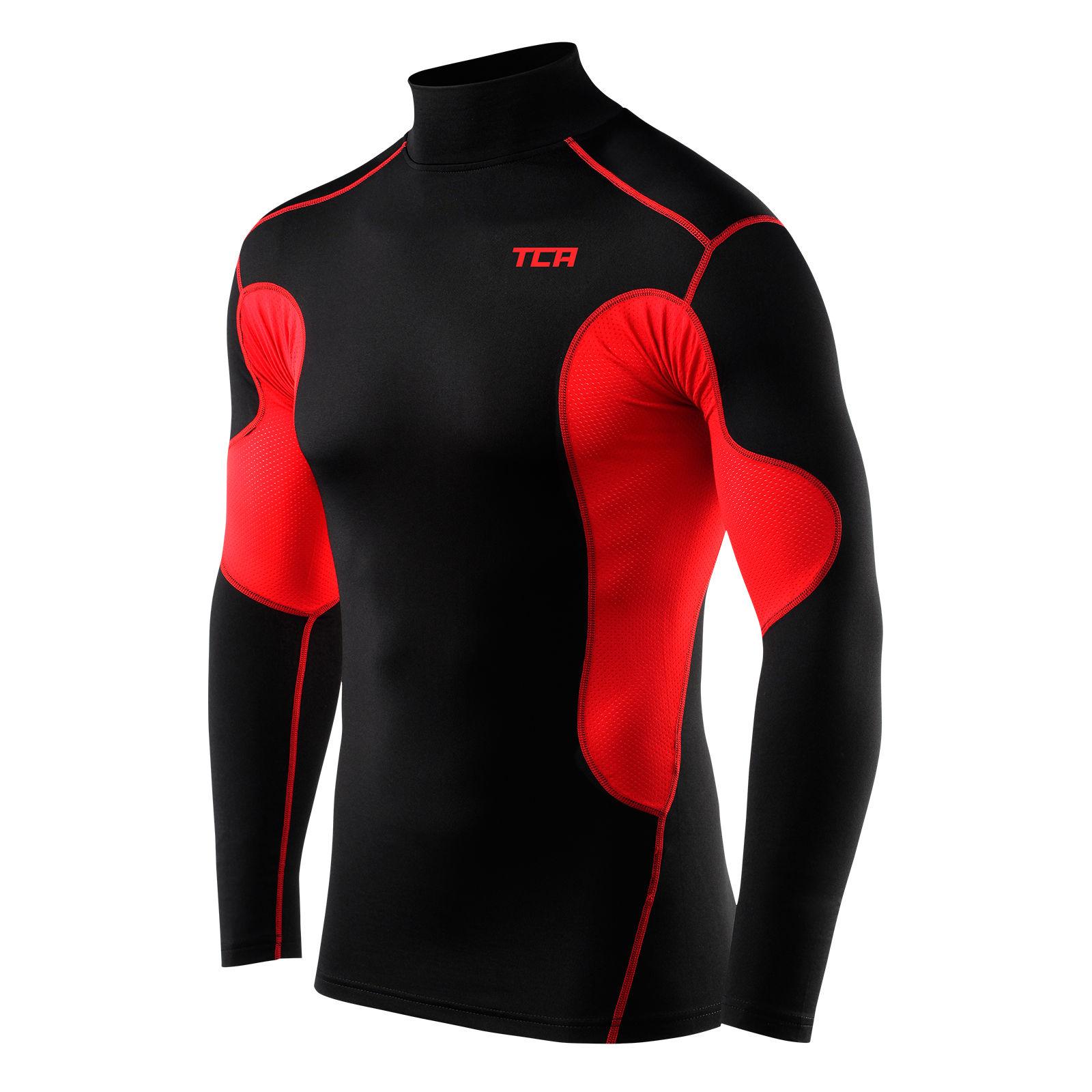 Best Mens TCA SuperThermal Compression Armour Base Layer Top Under Shirt Skins