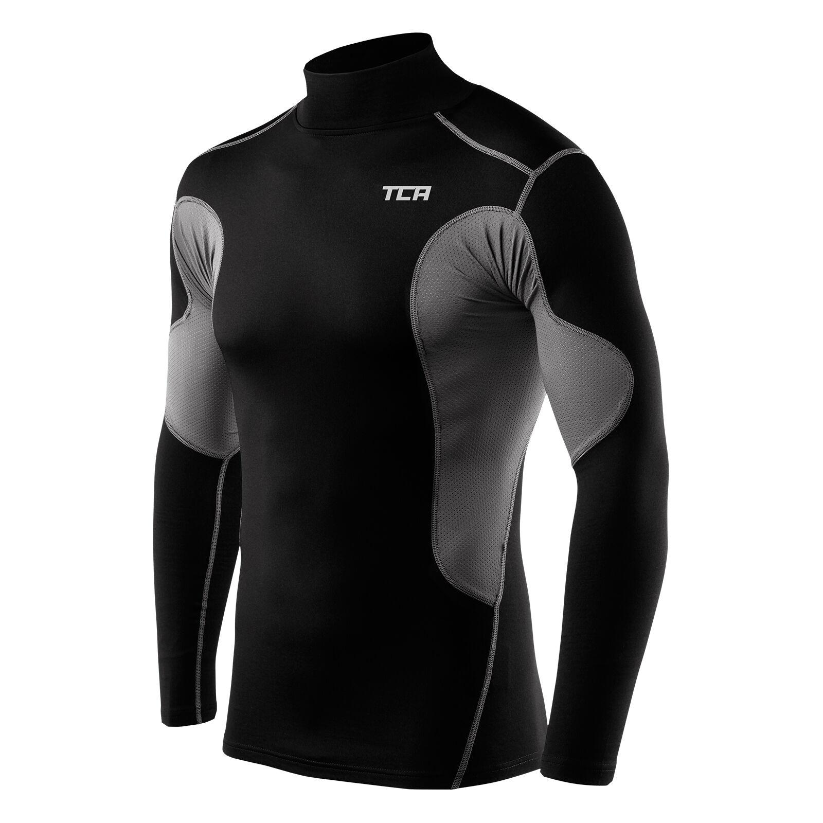 Mens TCA SuperThermal Compression Armour Base Layer Top Under Shirt Skins Reviews