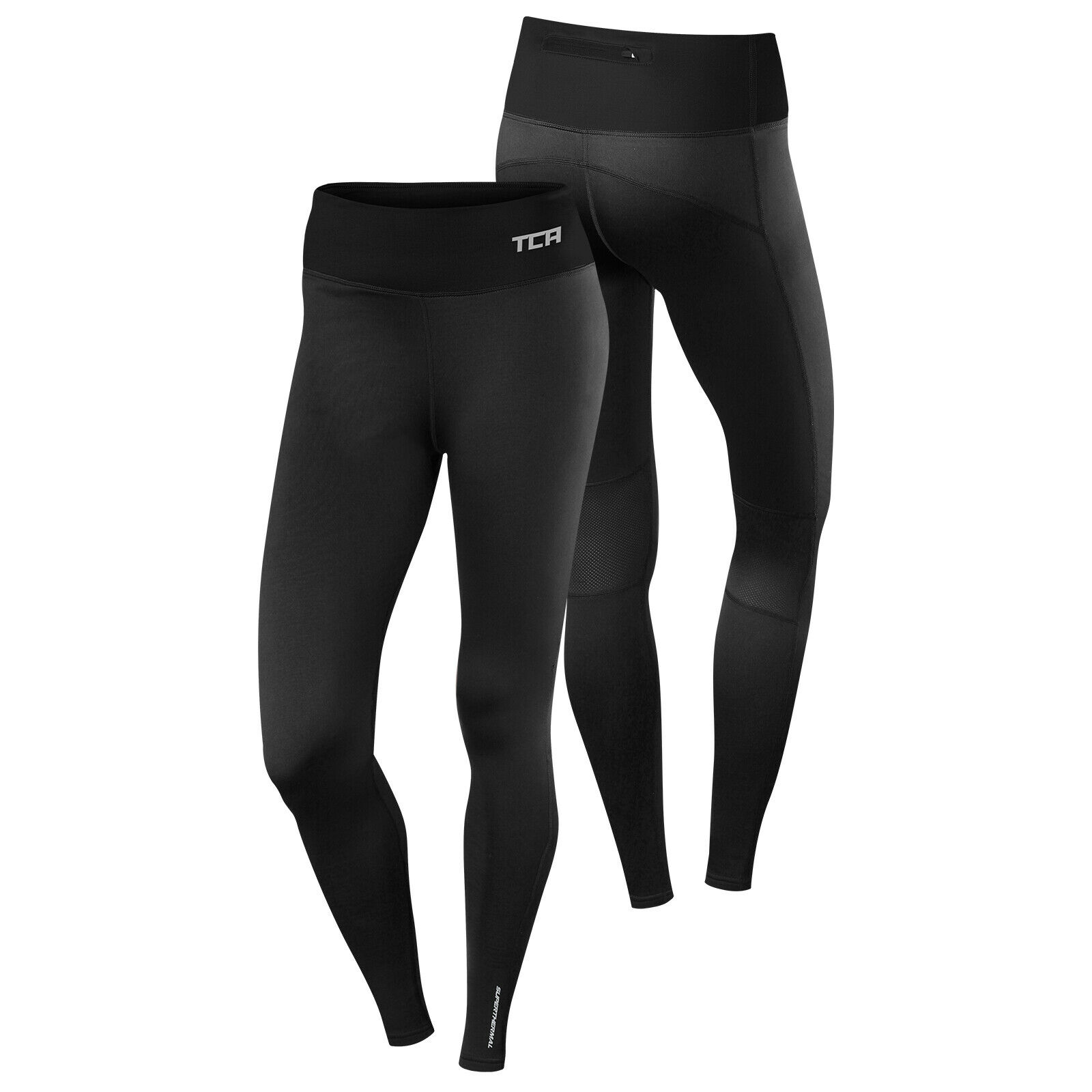 Best TCA Womens Thermal Running Tights Gym Workout Fitness Warm Bottoms